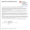 AT|Online Registrierung BM für Äußeres, Wien